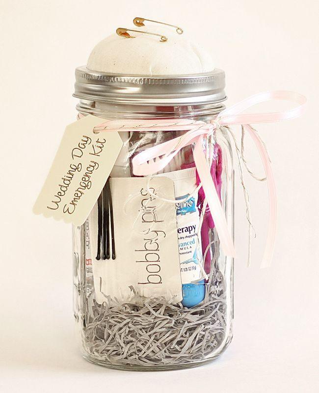 diy wedding emergency kit
