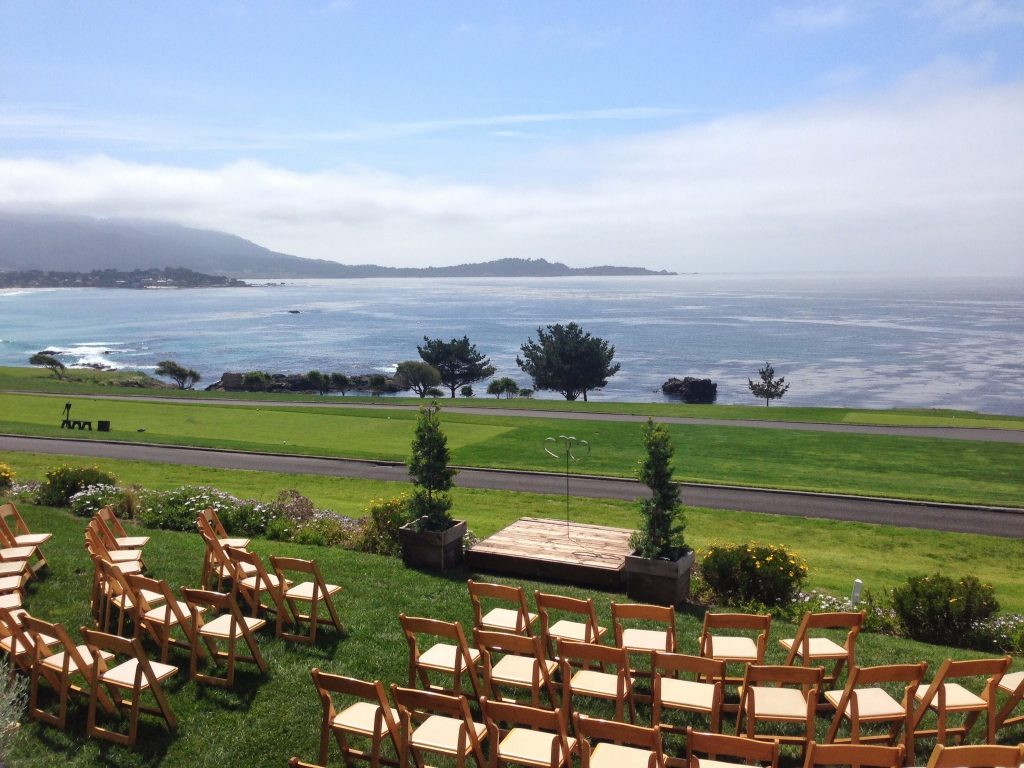 wedding in pebble beach venue