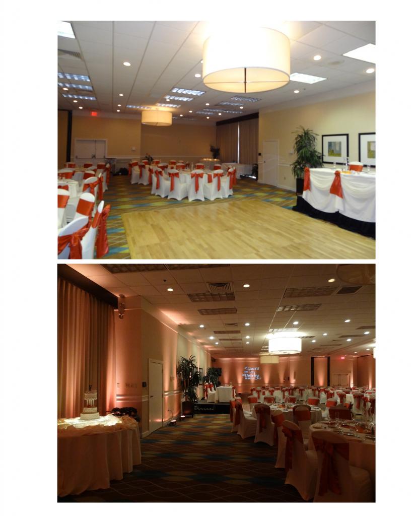 DIy fall wedding reception decorations