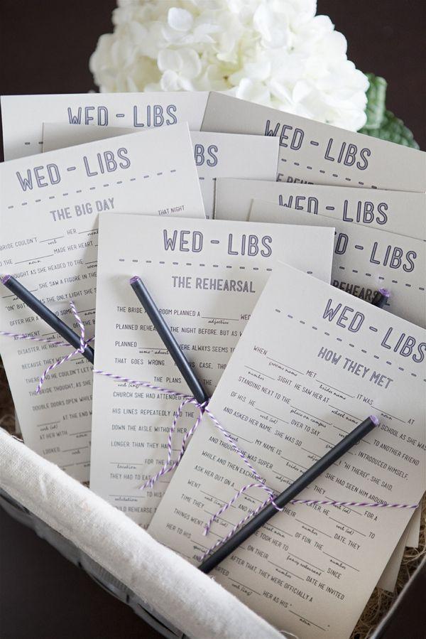 DIY wedding ideas printables