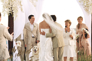 dogs wedding vows