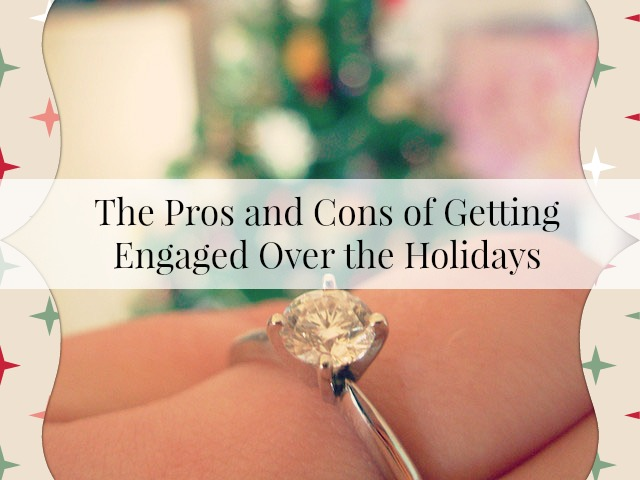 getting engaged over the holidays
