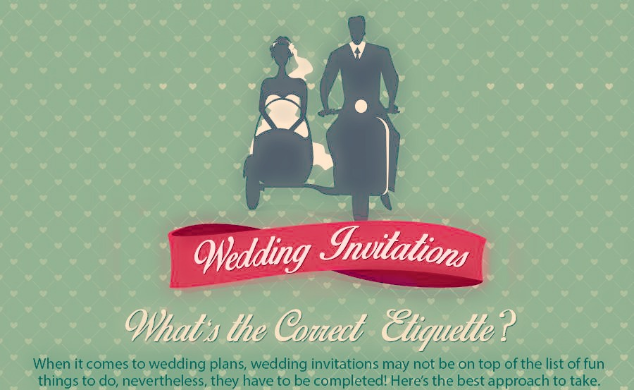 Your Ultimate Guide To Wedding Invitation Etiquette