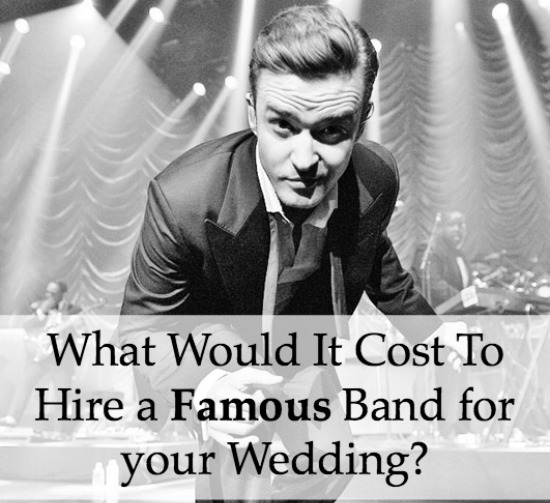 hire famous band for a wedding