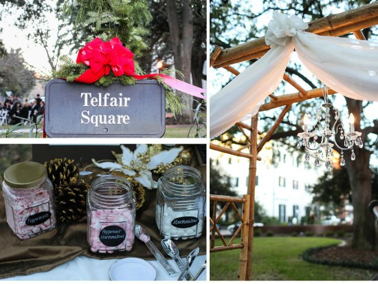 wedding videographer savannah and southern theme