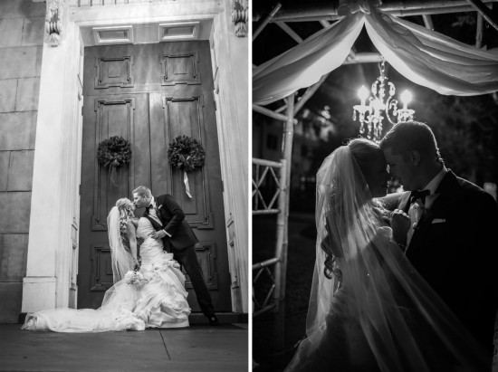 wedding videographer savannah and black and white wedding photo