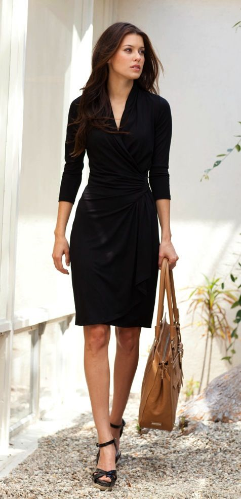 casual wedding rehearsal dress black