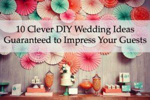 unique diy wedding ideas