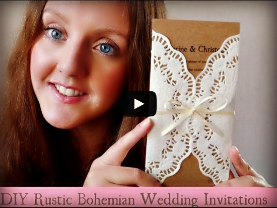 diy wedding invitation how to