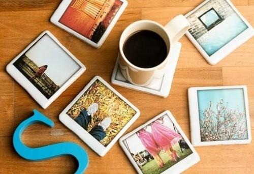 Instagram Coasters Wedding Favors
