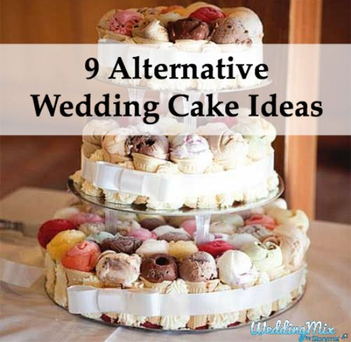Fun Wedding Cake Ideas: Alternative Wedding Cake Ideas