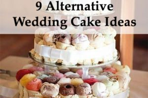 Best alternative wedding cake ideas