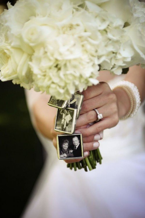 remembering lost loved ones at a wedding