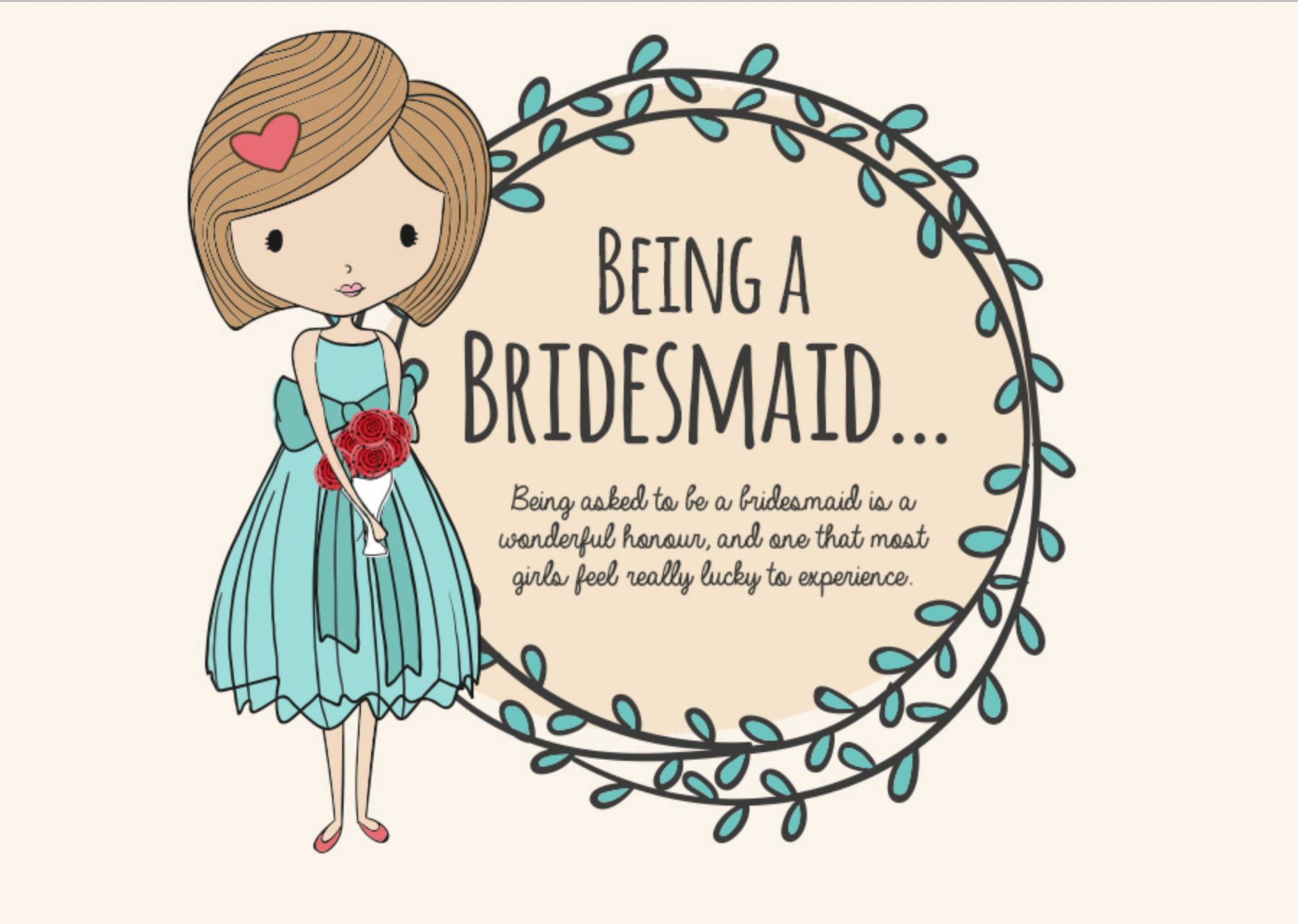 How to be a Top-Notch Bridesmaid [Infographic]