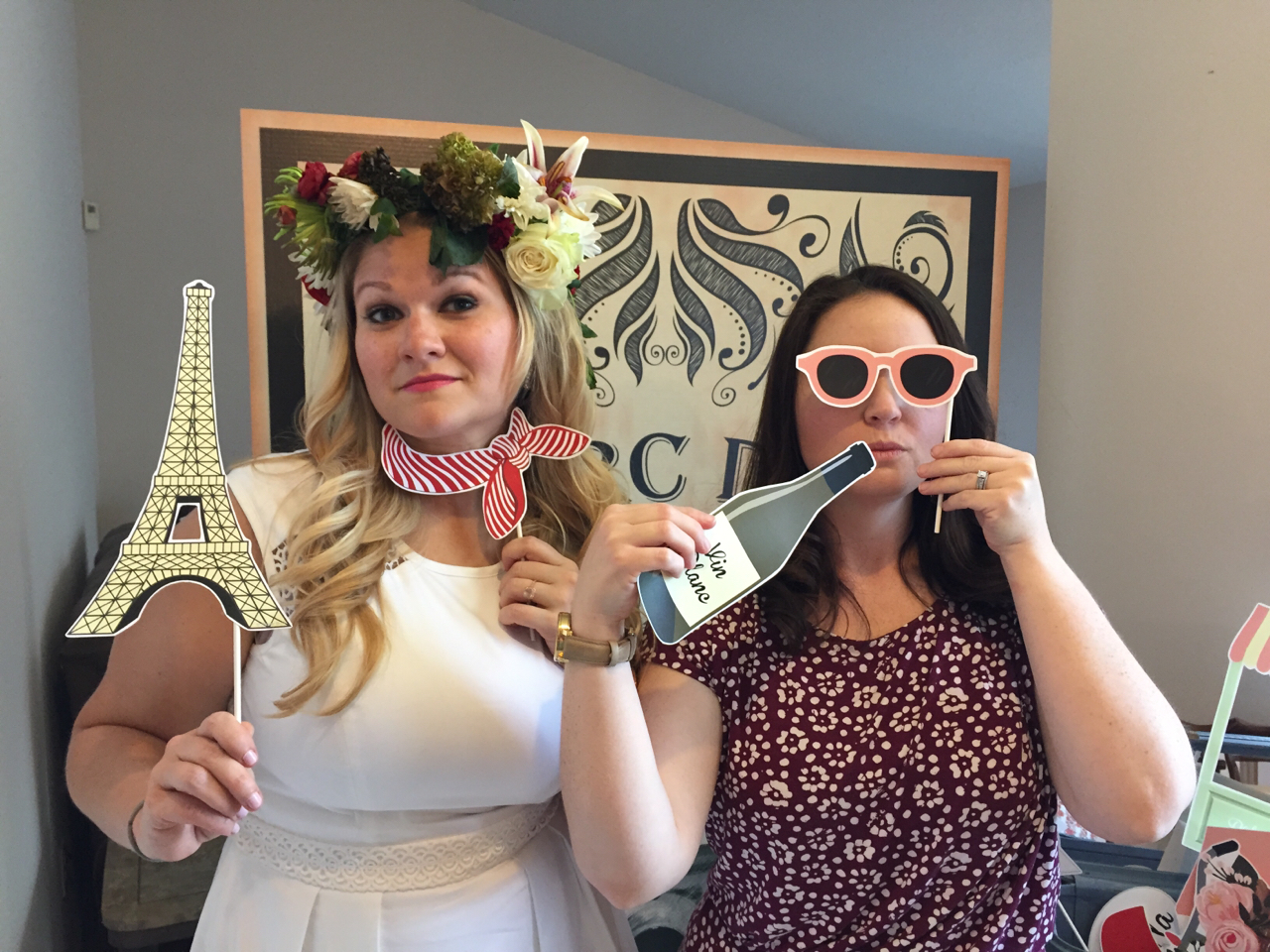 Paris themed bridal shower videography