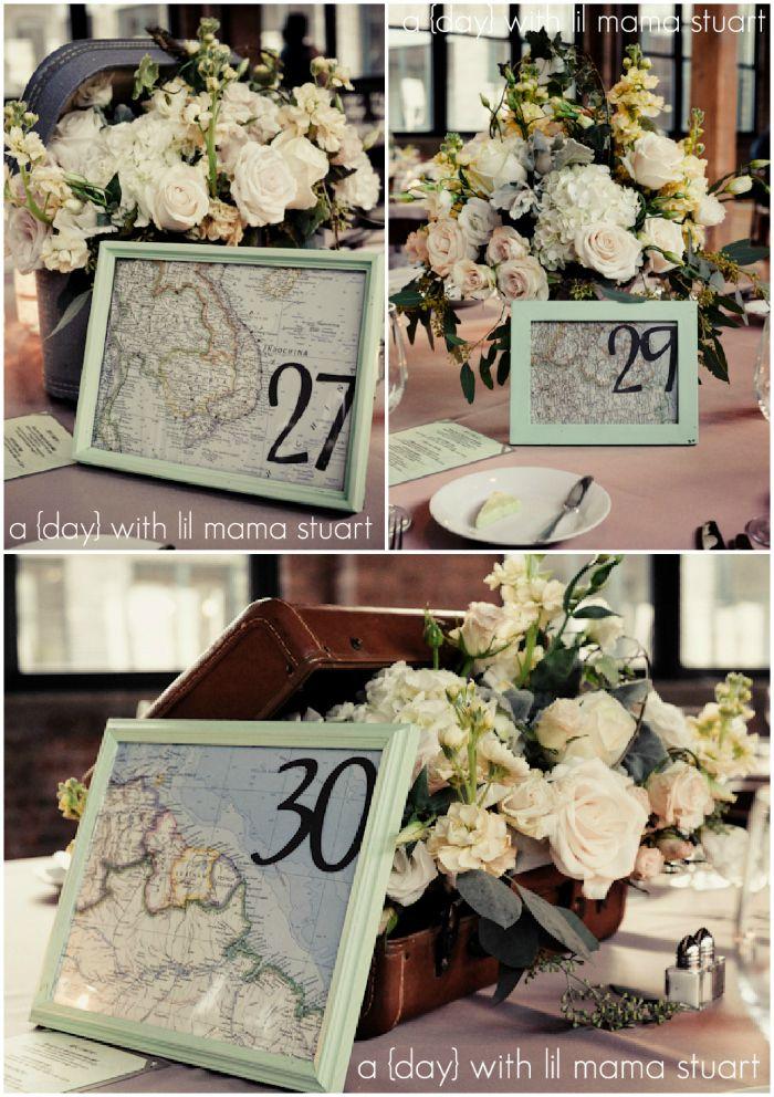13 Destination Wedding Table Card Ideas Weddingmix