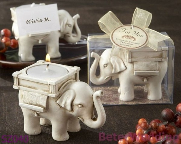 elephant tealight