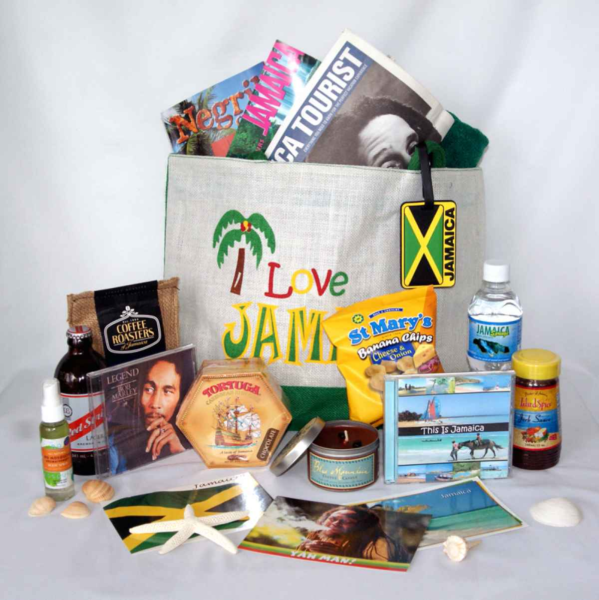 Destination Wedding Welcome Bag Idea