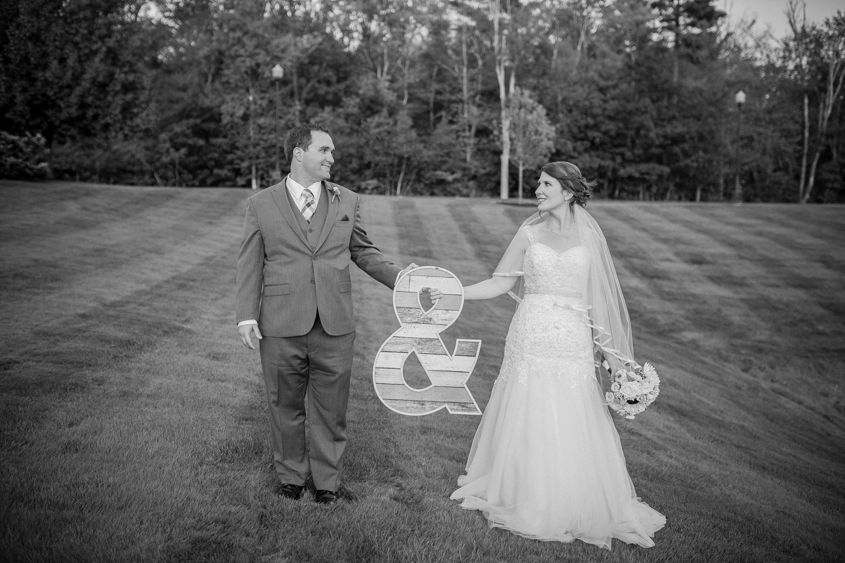 bride and groom videography