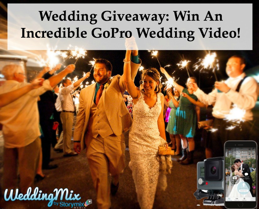 gopro wedding video giveaway