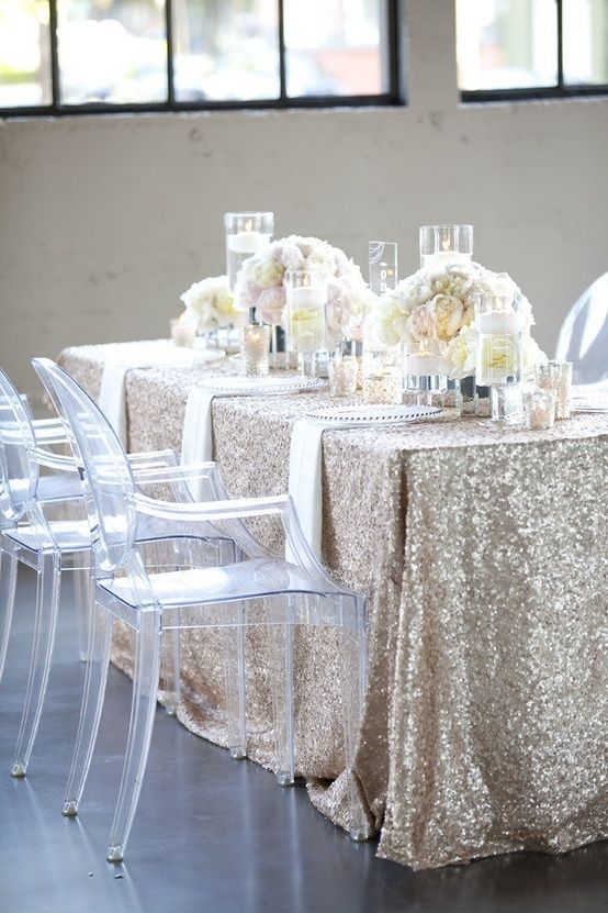 DIY Glitter wedding ideas