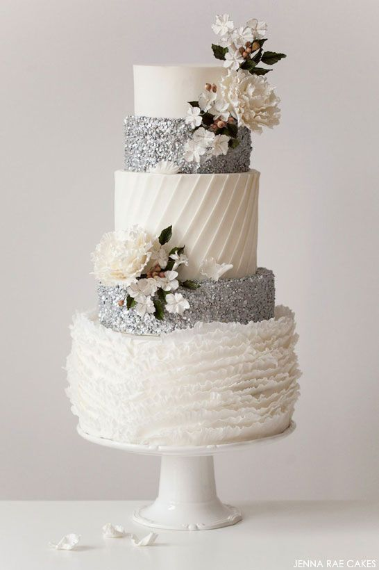 Glitter themed wedding ideas