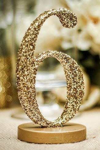 Gold Glitter Wedding Ideas