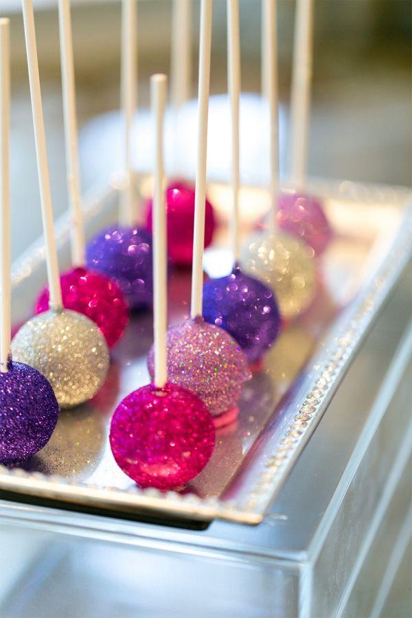 diy glitter wedding ideas