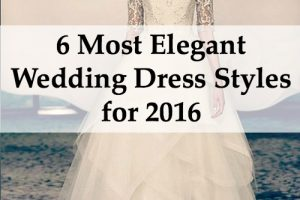 elegant wedding dress styles