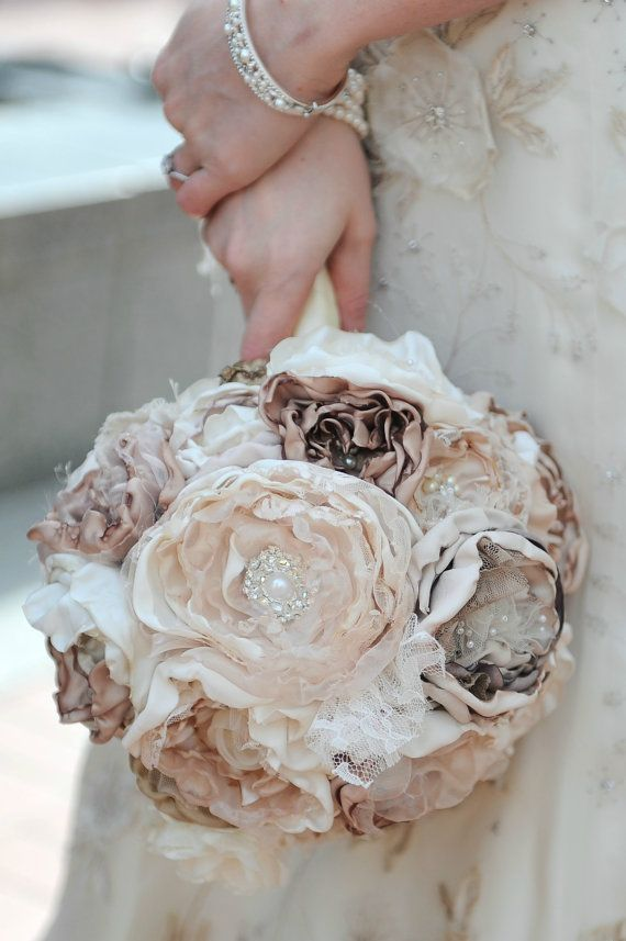 DIY wedding bouquet alternative