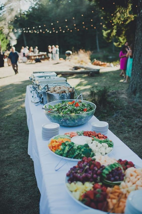 backyard wedding bbq ideas affordable weddings from real brides