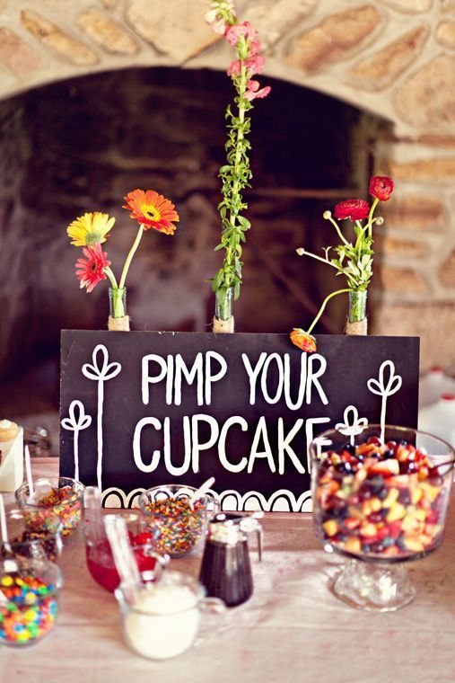 Cupcake Candy Bar Affordable Wedding Ideas From Real Brides