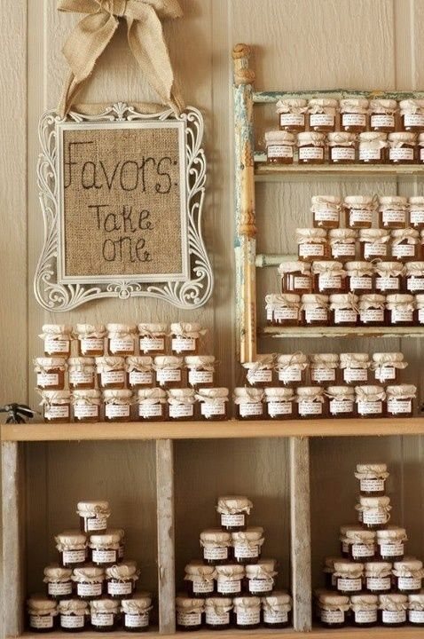 Affordable Wedding Ideas From Real Brides Jam Diy Favors