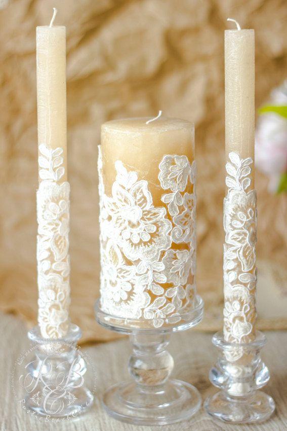 beautiful wedding candle ideas