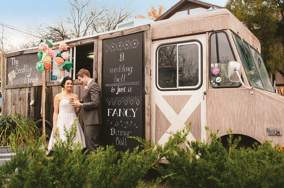 Food truck wedding ideas