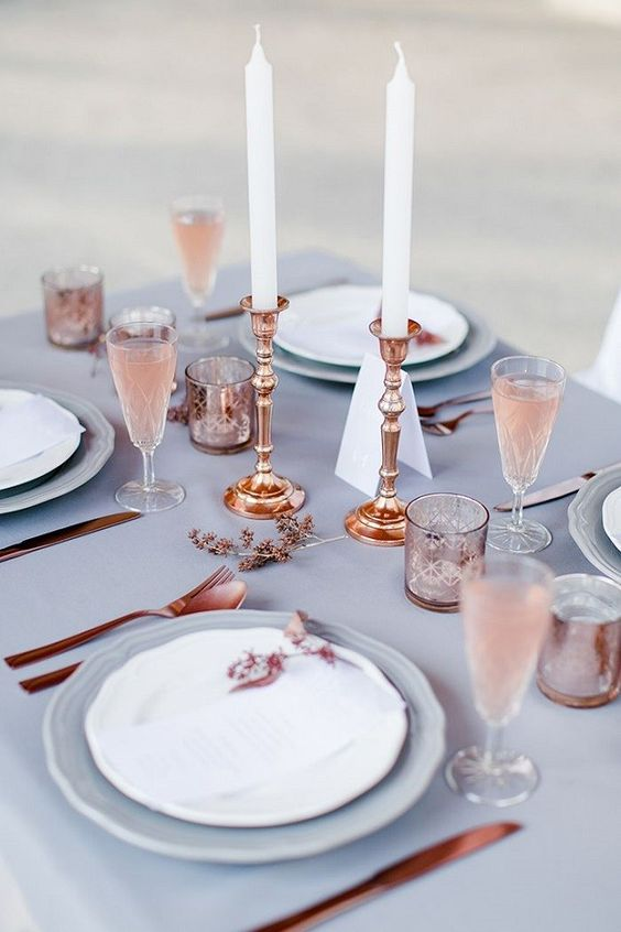 Pantone color of the year 2016 wedding decorations