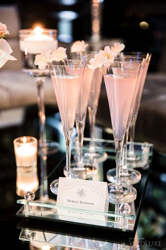 Pink cocktail wedding pantone 2016 ideas