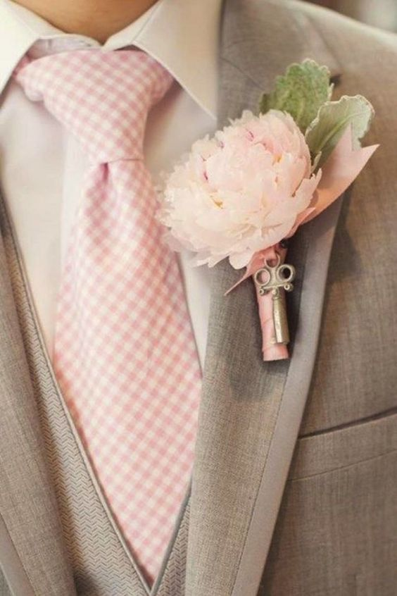 Pantone color of the year groom accessories wedding