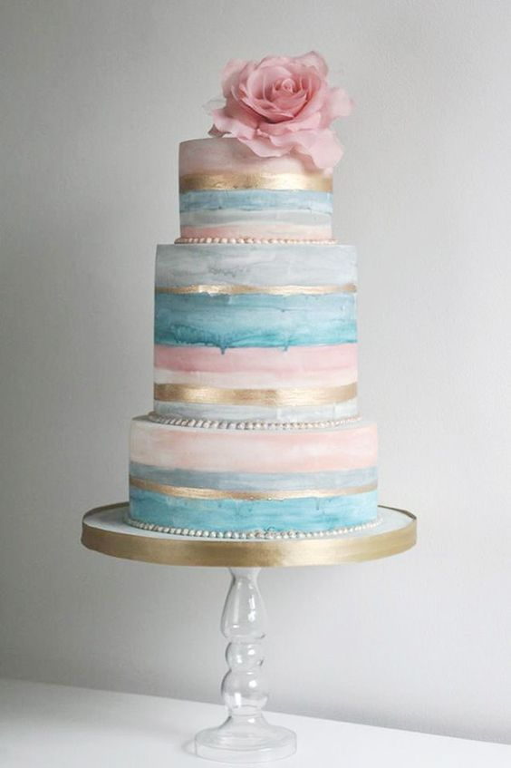 Pantone color of the year wedding cake ideas