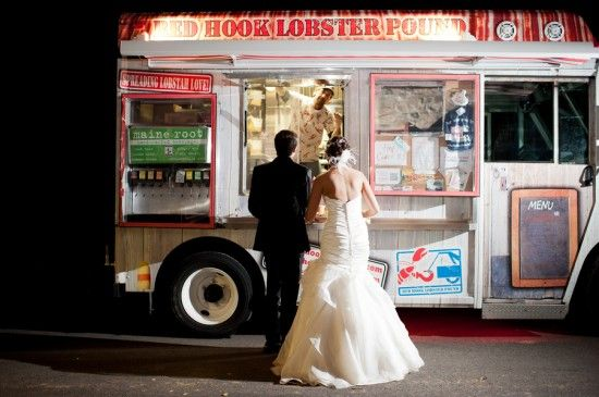 affordable Food truck wedding ideas