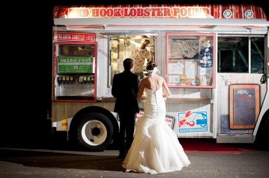 affordable Food truck wedding ideas