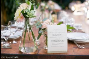 wedding table card ideas hashtag