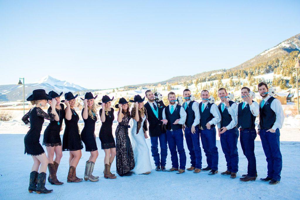 wedding video in Big Sky, MT