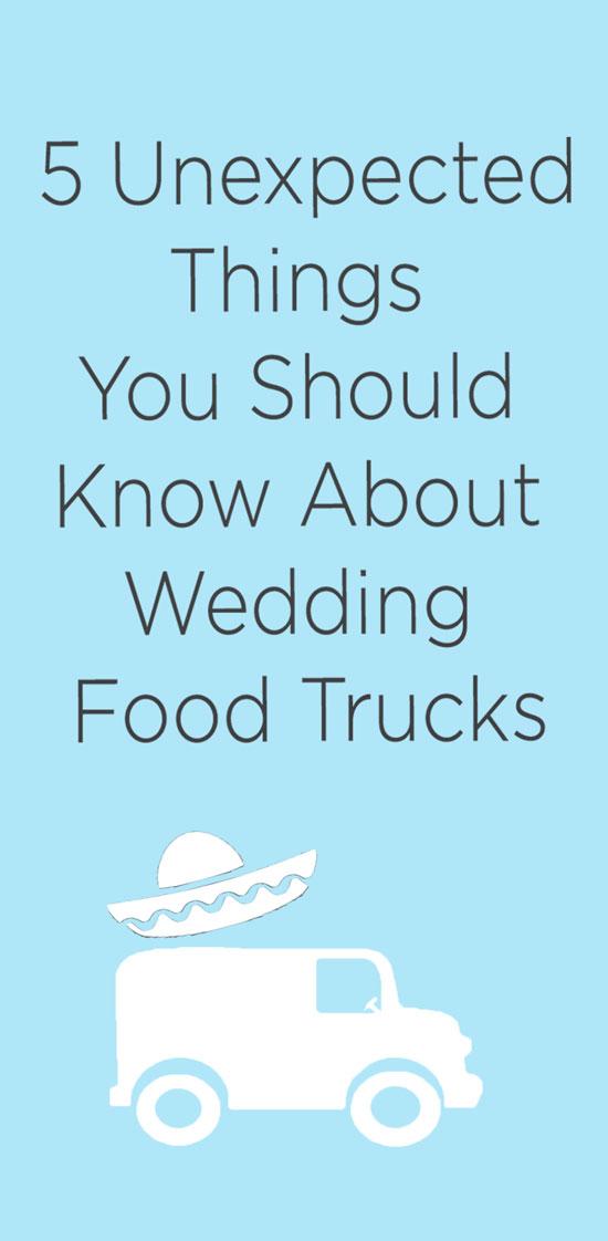 Wedding food truck ideas