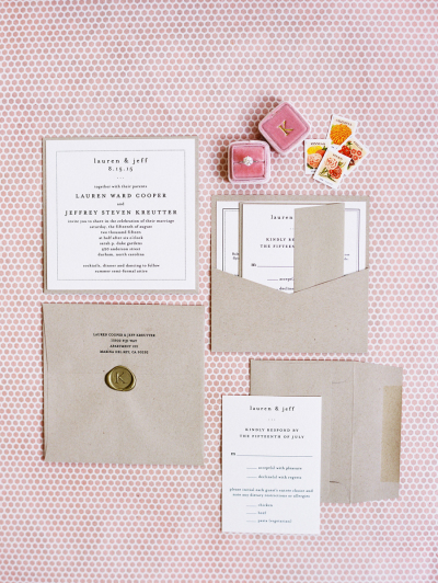 Pantone color of the year wedding ideas invitations