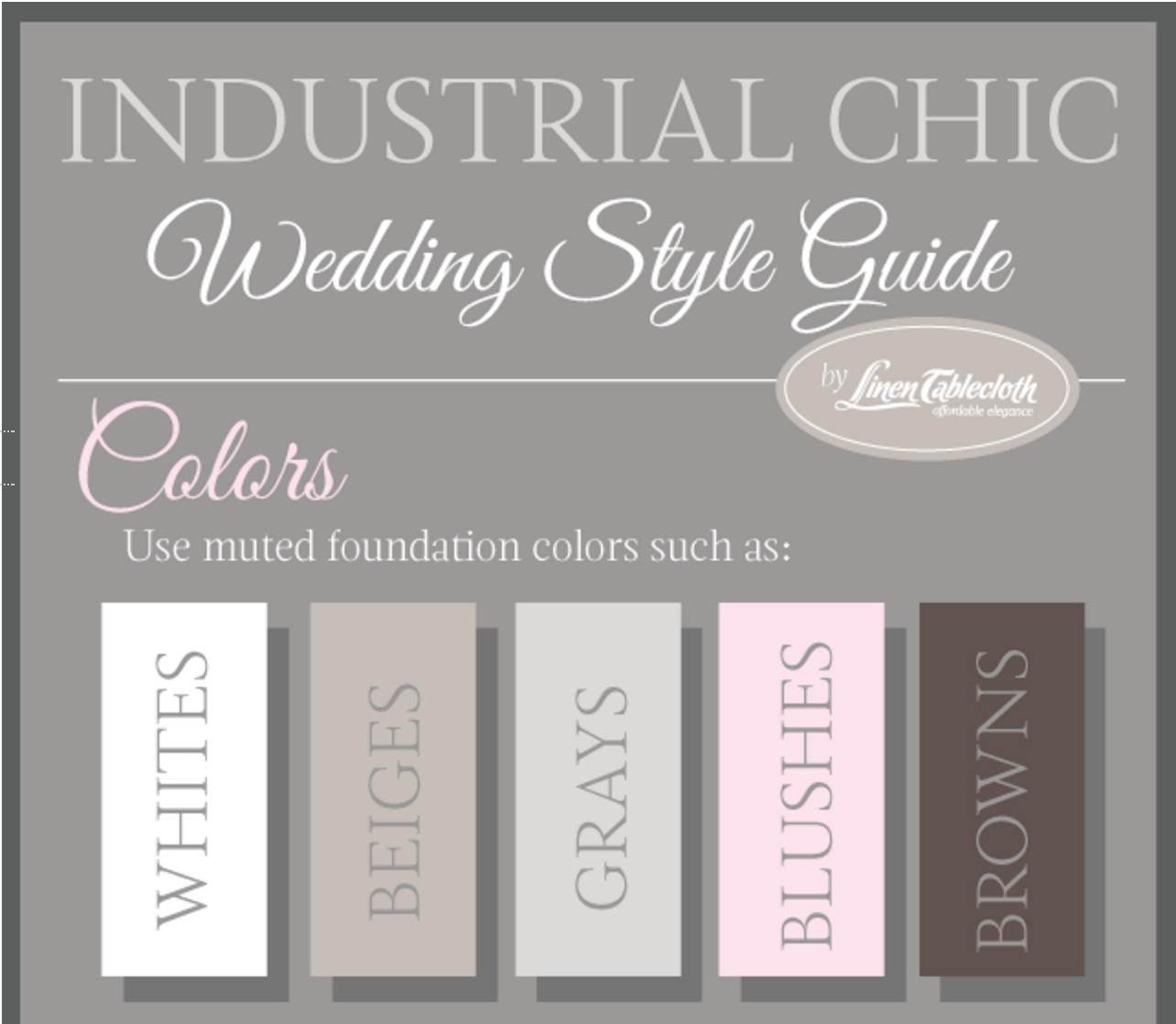 5 must have features of an industrial chic wedding industrial wedding decor ideas 5 must have junglespirit Image collections