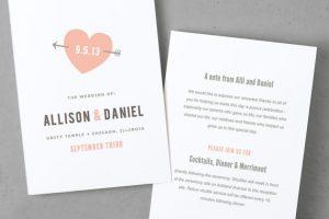 etsy wedding invitation template