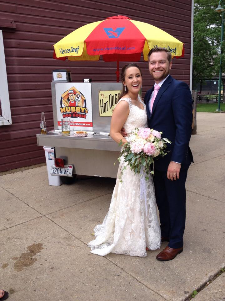 Hot Dog Stand Wedding