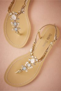 Bebba Belle wedding sandal BHLDN