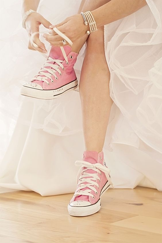 Converse wedding heels alternative